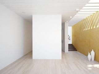 modern interior.. 3d concept