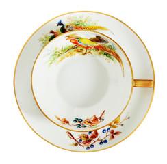 Porcelain antique cup