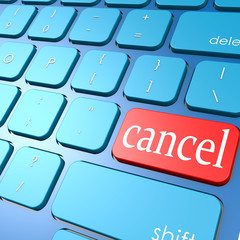 Cancel keyboard