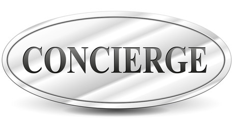Vector concierge sign