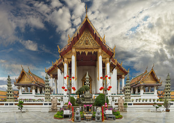 Sutat Temple, Bangkok of Thailand