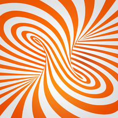 vector-orange-spiral-optical-illusion [spin]