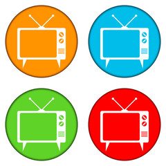 TV button set
