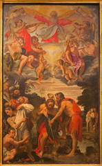 Bologna - Baptism of Christ in Chiesa di San Gregorio