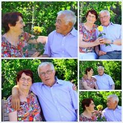 composition,couple 75 ans amoureux