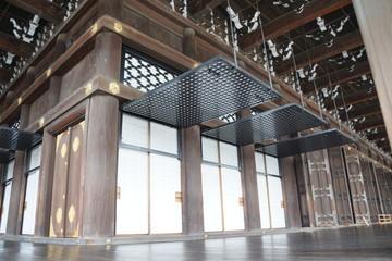西本願寺 御影堂の蔀戸