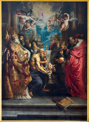 Antwerp - Disputation of the Holy Sacrament by Rubens