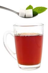 Thé avec sucre ou stévia