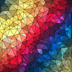 Abstract Geometrical Multicolored Background.