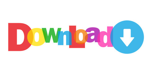"""DOWNLOAD"" (internet web search save free files pdf icon button)"