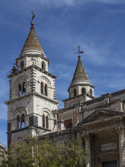 Cathedral of Acireale in Sicily, Italy