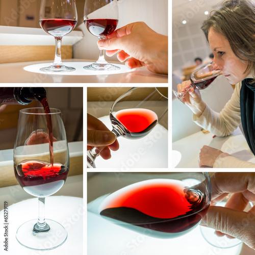 Papiers peints Vin composition dégustation