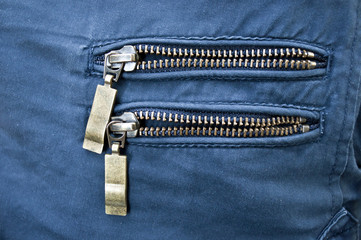 two zipper