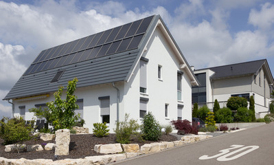 Neu gebautes Eigenheim im Wohngebiet