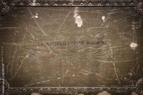 Keuken foto achterwand Metal military background