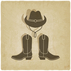 cowboy old background
