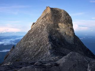 St. John's Peak on Mount Kinabalu, Malaysian Borneo
