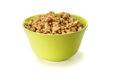 Oats cereal in a bowl