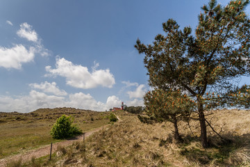 Lighthouse on the dutch island Vlieland