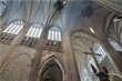 Leuven - Transept of st. Peters gothic cathedral