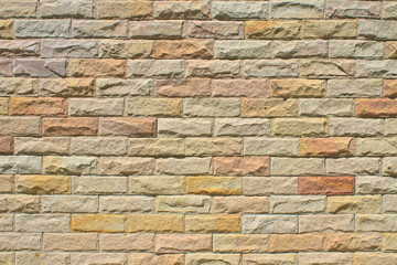 Modern stone Brick Wall Surfaced