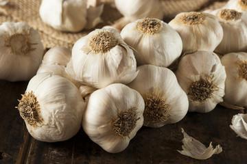 Organic Raw White Garlic