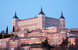 Toledo - Alcazar in morning dusk