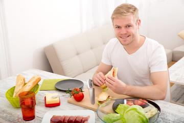 Sandwich essen