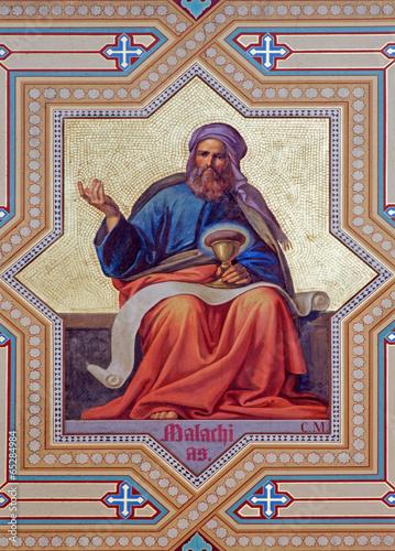 Vienna - Fresco of Malachi prophets from 19