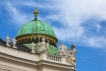 Kuppel Wiener Hofburg