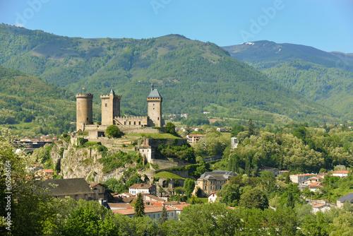 Papiers peints Chateau Château de Foix