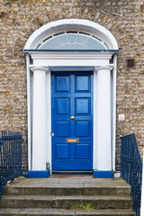 Porta Blu a Dublino