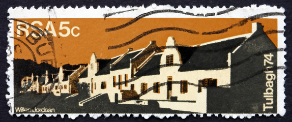 Postage stamp South Africa 1974 Church Street, Tulbagh