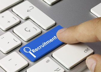 Recruitment. Keyboard