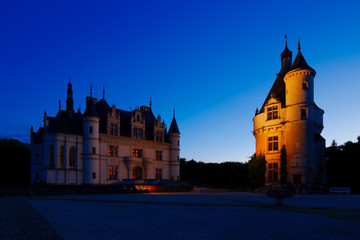 Castle of Chenonceau, Loire Valley, France