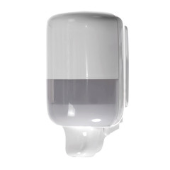 Hand sanitizer dispenser isolated on white
