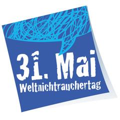 Weltnichtrauchertag,Post-it,Reminder,Stempel