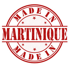 Made in Martinique stamp