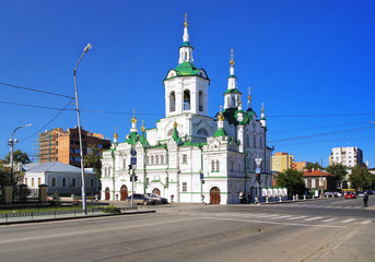 Church of the Saviour in Tyumen, Russia