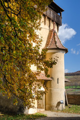 Biertan fortified tower, Transylvania-detail
