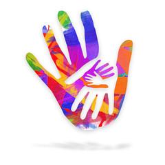 Mani nell'arte - logo