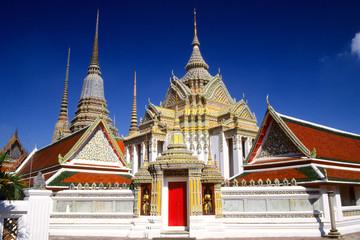 Temple de Wat Po à Bangkok en Thaïlande