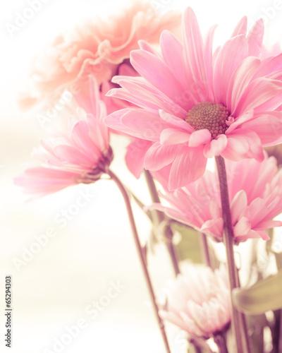 Fotobehang Bloemenwinkel Soft tone floral bouquet