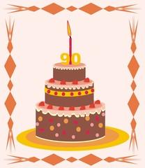 cake - 90 years