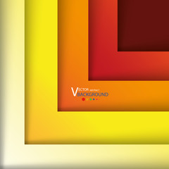 Abstract crossing rectangle shapes background.vector