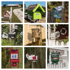 New Zealand letter boxes