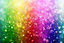 """Постер, картина, фотообои """"Rainbow of lights"""""""