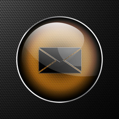 Vector mail web icon