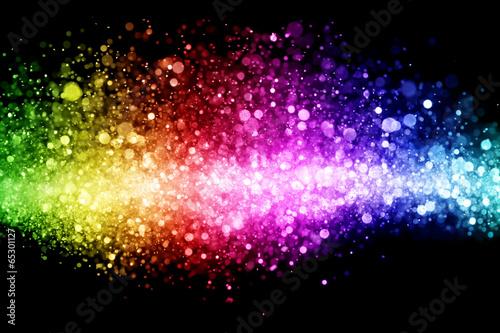 Fototapeta Rainbow of lights