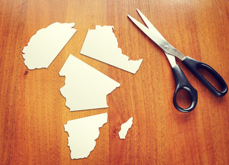 Changing of geopolitical conditions in Africa